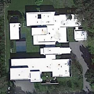 Alex Rodriguez's house (Google Maps)