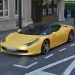 Bicolore Ferrari 458 Italia