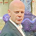 Bruce Willis wax figure (StreetView)