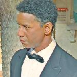Denzel Washington wax figure