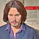 Johnny Depp wax figure