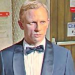 Daniel Craig wax figure