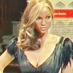 Tyra Banks wax figure