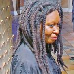 Whoopi Goldberg wax figure