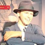 Frank Sinatra wax figure
