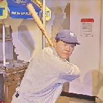 Babe Ruth wax figure