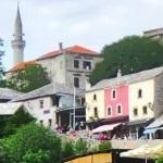 Mostar, under Stari Most (Old Bridge)