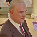 Franklin D. Roosevelt wax figure