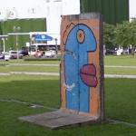Berlin Wall Section, Leipziger Platz, Berlin DE (StreetView)
