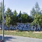 Berlin Wall Section, Bornholmer Str, Berlin DE (StreetView)