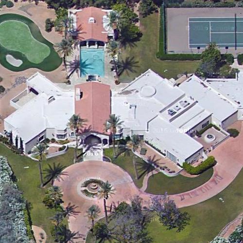 Home Pics: Charles Barkley's House In Scottsdale, AZ (Google Maps