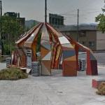 'Art Shelter' by Jorge Pardo (StreetView)