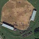 Baseball game in progress (Google Maps)