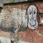 Graffiti in Doel