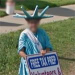 Roadside Lady Liberty