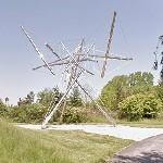'B-Tree II' by Kenneth Snelson (StreetView)