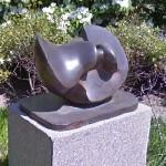 'Working Model for Divided Oval: Butterfly' by Henry Moore