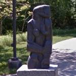'Standing Woman' by Ossip Zadkine