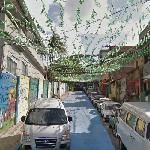 Decoration on the R. Tavares Bastos (2014 FIFA World Cup) (StreetView)