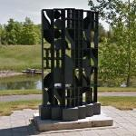 'Atmosphere and Environment XI' by Louise Nevelson (StreetView)