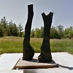 'King and Queen' by David Nash