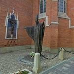 Monument of Pope John Paul II in Tarnow