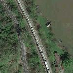 Train Derailment - Crude Oil Fire, Explosion and Spill (Google Maps)