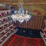Auditorium of the Bolshoi Theatre (StreetView)