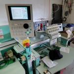 Tajima multi-head embroidery machine (StreetView)