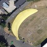 Giant banana in playground BaNanna Park