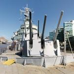 On board HMS Belfast (C35)