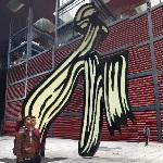 'Brushstroke' by Roy Lichtenstein (StreetView)