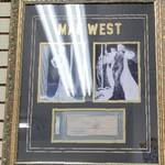 Mae West photos with a paycheck