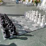 Chessboard in the Grand Hotel