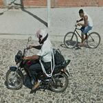 Bicycle vs Motorcycle (StreetView)