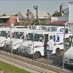 US Postal delivery vehicles