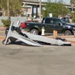 Anchor from the USS Lexington (StreetView)