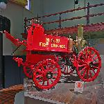Horse-drawn fire engine, 1895