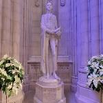 George Washington at the National Cathedral by Lee Lawrie