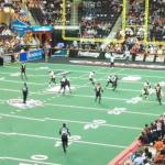 Arena Football game with Detroit Gladiators