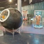Yuri Gagarin Capsule and space suit