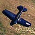 Corsair F4U-5NL (Google Maps)
