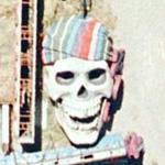 Pirate skull (Google Maps)
