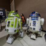 R2D2 and another Star Wars robot