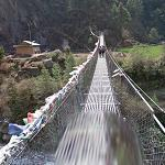 Suspension Bridge (Dudh Kosi River)