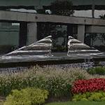 'Flowing Man' by Ernest Trova (StreetView)