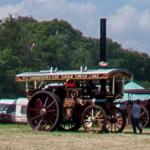Traction Engines at the Prestwood Steam Rally
