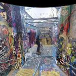 Sydney University graffiti tunnel