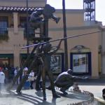 Movie Maker's statue