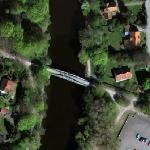 Disused Railway Bridge in Ängelholm